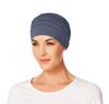 Yoga Turban Bamboo Chemo Cap-Blue -168 by Christine Hat