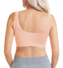 Clara Soft Cup Front Closure Leisure Bra by Amoena -back wide band
