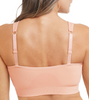 Emilia Surgical Bra with Front Zipper -Rose Nude Back by Amoena