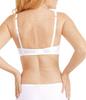 Karolina Wire Free Mastectomy Bra - White Light Nude by Amoena -back