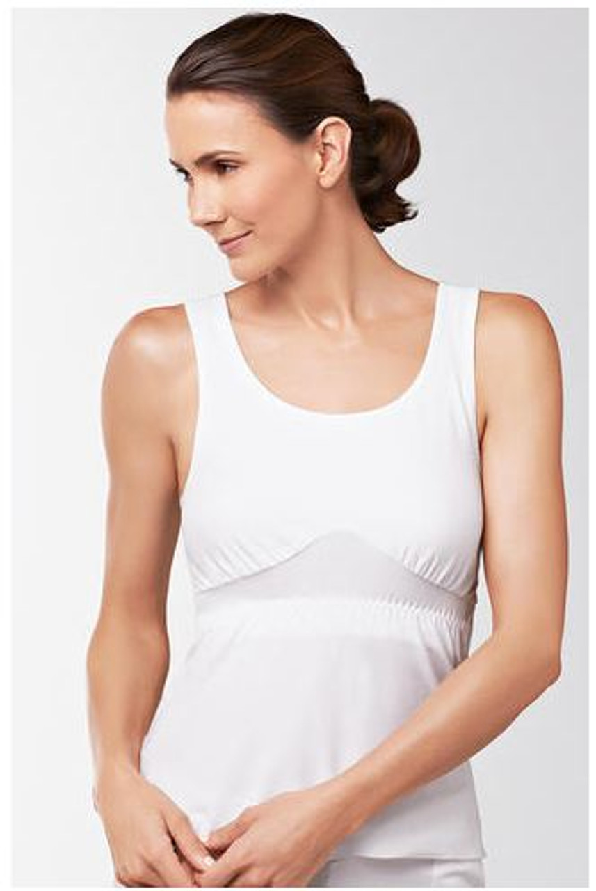 659ef4e42a0 Amoena Cotton Post Surgery Camisole - Post Up Camisole for Mastectomy
