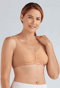 Frances -Post Surgery Recovery Bra by Amoena-Nude