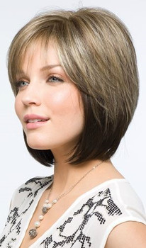 Codi Wig by Amore Hand Tied Monofilament, Lace-front,