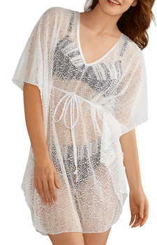 Naxos Swim Tunic by Amoena White