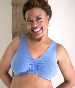 Cotton - After Mastectomy Leisure Bra by American Breast Care Seasonal color- not always available