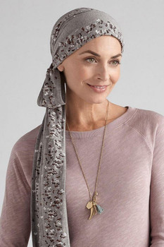 Amoena Head  Scarf Windflower Scarf - Cotton Headwear