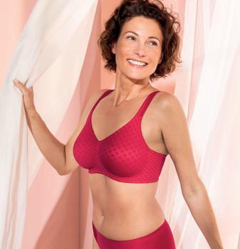 Anita Mastectomy Wire-free - Garnet