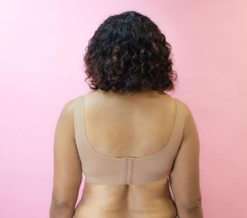 American Breast Care Wide Band Mastectomy Bra   136 Comfy Class Bra Back