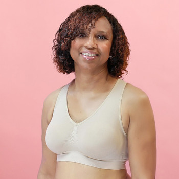 Mastectomy Bra | ABC136 Comfy Class Bra Back by American Breast Care