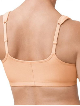 Amoena Mastectomy Bra Fleur Wire-Free Cotton Bra -back