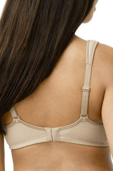 Mira Mastectomy Bra is seamless, non wire bra by Amoena back