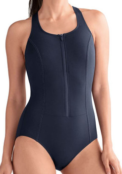 Key West One Piece Swimsuit- Dark Navy Amoena Mastectomy Swimwear
