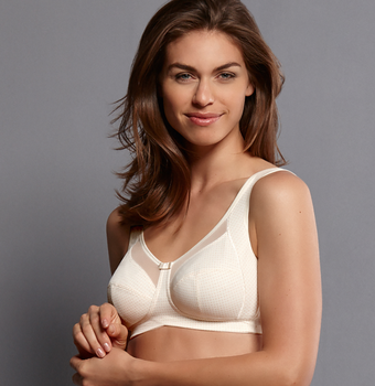 Clara Art Mastectomy Bra by Anita Style# 5763X-Champagne Color