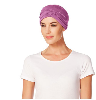 Gaia Bamboo Turban - Fuchsia -GS174 by Christine Headwear