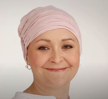 Chitta Turban/Headband-  Model - Rose Melange 320