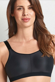 Mastectomy Bra Madlene 5714X  by Anita-Back closure -Black