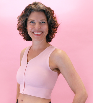 Active Recovery Bra | Post Op Bra with Front Closure by American Breast Care