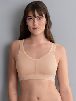Sport Bra - Active Wirless Mastectomy Bra - Nude by Anita