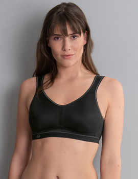 Sport Bra - Active Wirless Mastectomy Bra - Black by Anita