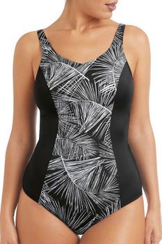 Mastectomy Swimwear - Florida Full -Bodice Swimsuit  front by Amoena