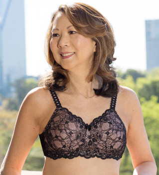 Princess Lace Bra style 514 - black/champagne by American Breast Care