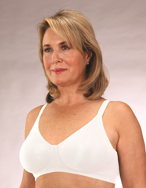 Cotton Bra - Cotton Mastectomy Bra Allergy Free Cotton Bra for sensitive skin for breast surgery recovery.