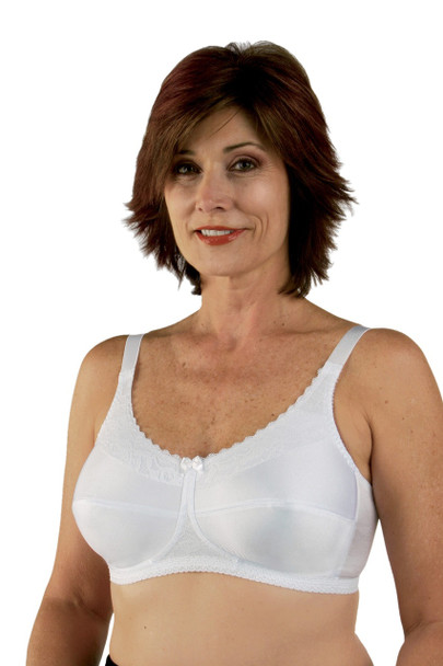 Style 770 Mastectomy Bra  by Classique -White
