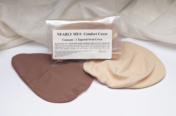 Breast Form  Cover Cloth Breast Prosthesis Cover