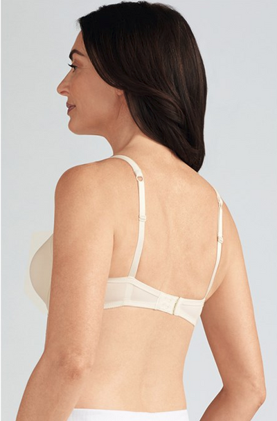 Lara SB Wire Free Padded Mastectomy Bra by Amoena Off White-Back