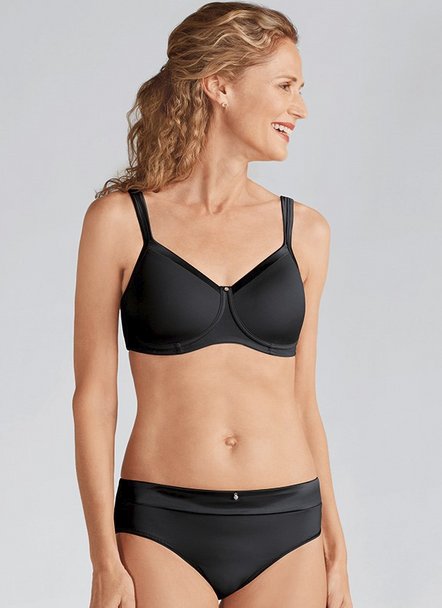 Lara Satin Padded Non-wired  Mastectomy Bra