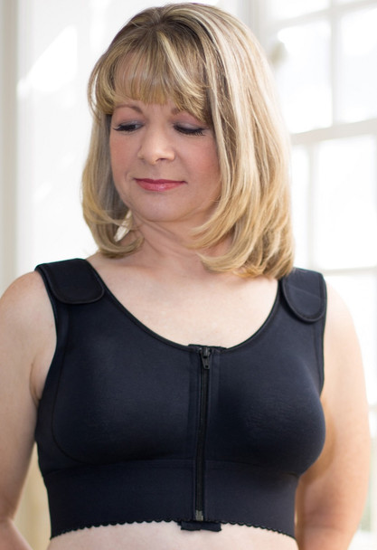 Compression Bra - After Breast Surgery, Post Op Bra by American Breast Care  Breast Stabilizing Surgical Compression Bra