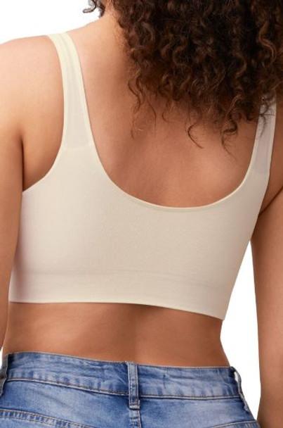 Becky Mastectomy Comfort Bra by Amoena -Off White