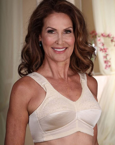 Mastectomy Bra -Comfort Plus with side and back smoothing