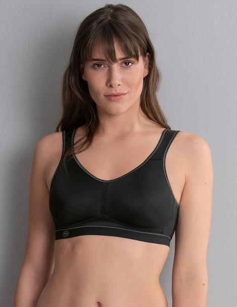 Sport Bra - Active Wirless Mastectomy Bra - Black by Anita