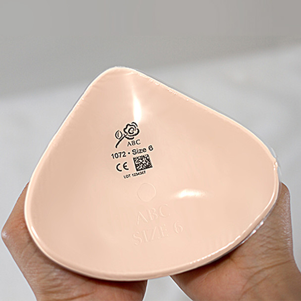 Breast Form - Lightweight ABC 1072  Classic Triangle Prosthesis.
