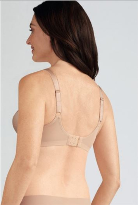 Rita Soft Cup wire - free mastectomy bra by Amoena -nude back