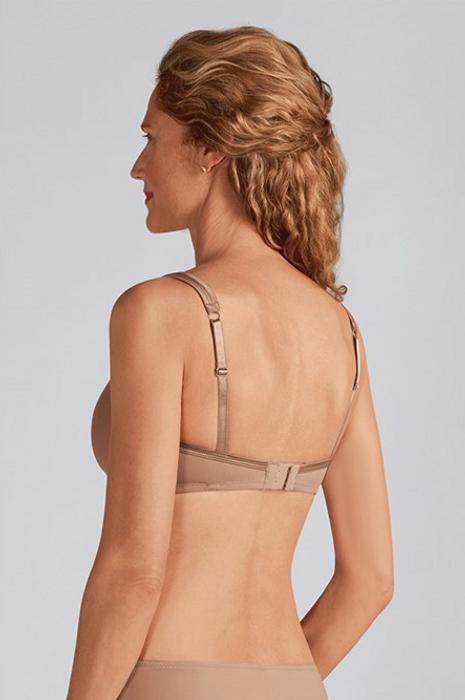 Lara Satin Padded Non-wired  Mastectomy Bra