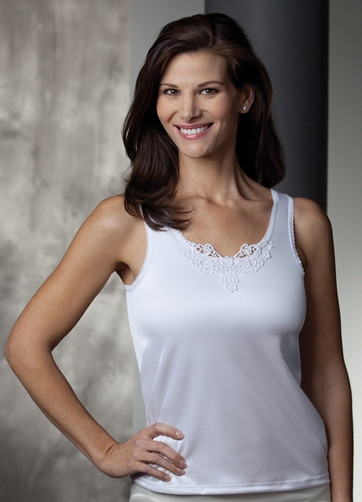 75b90ab75a Trulife Jennifer Camisole - GraceMd Mastectomy