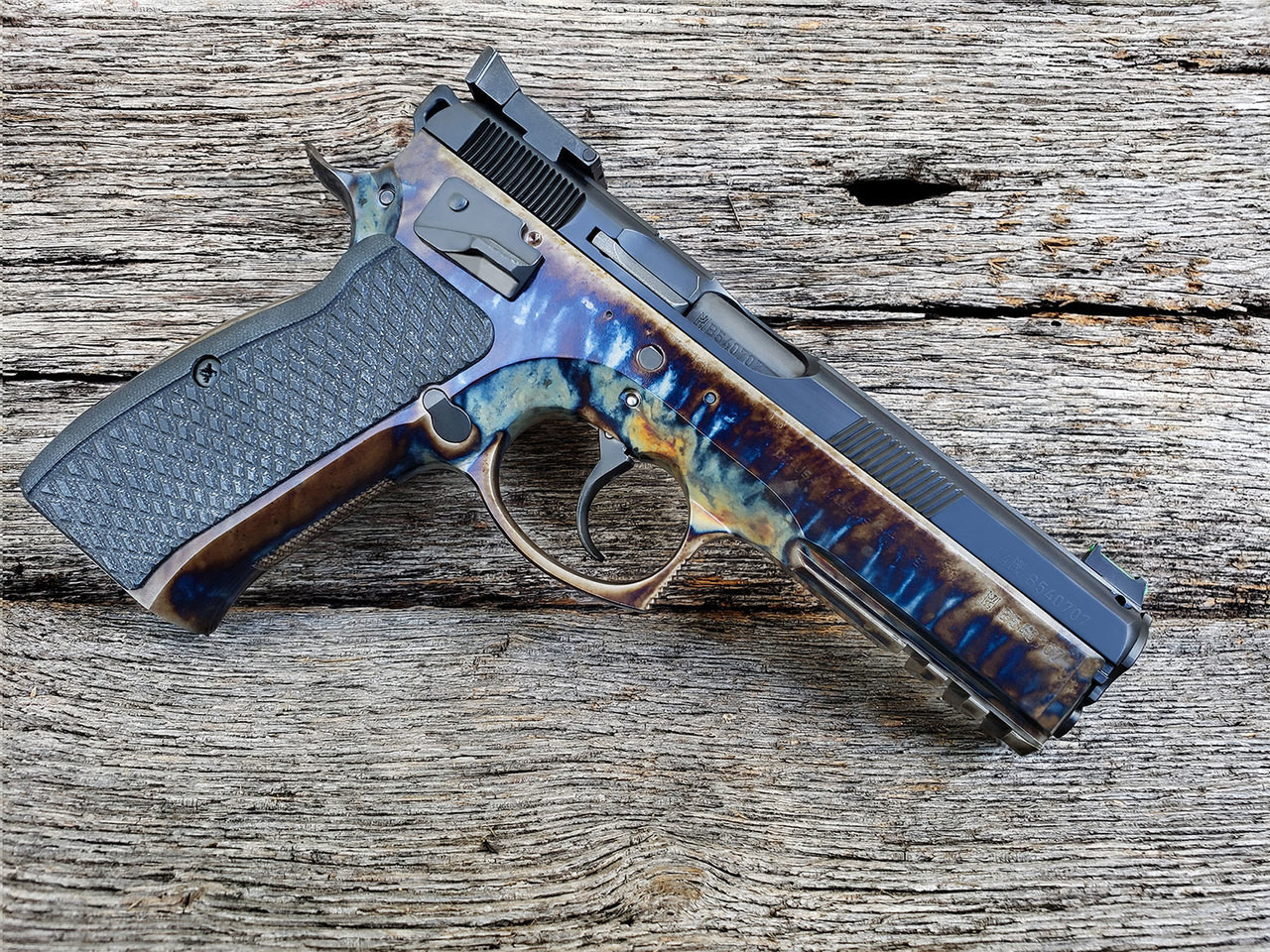 The CZ 75 Guncrafter Industries Executive Series - Complete Pistol