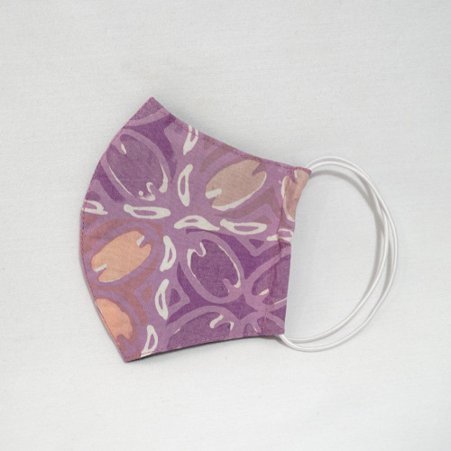 Reusable Face Mask (S (Kids), M) - Batik 40