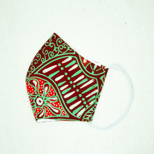 Reusable Face Mask (M, L) - Batik 46