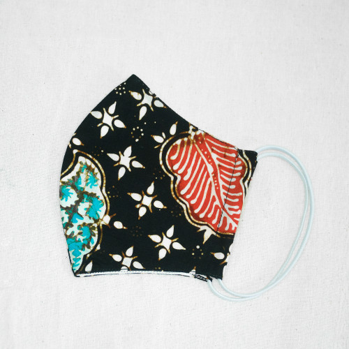 Reusable Face Mask (M, L) - Batik 48