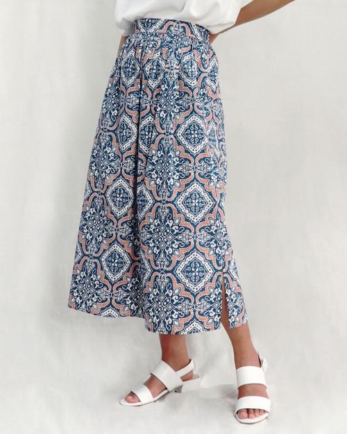 Gather Skirt - Teal Tegel