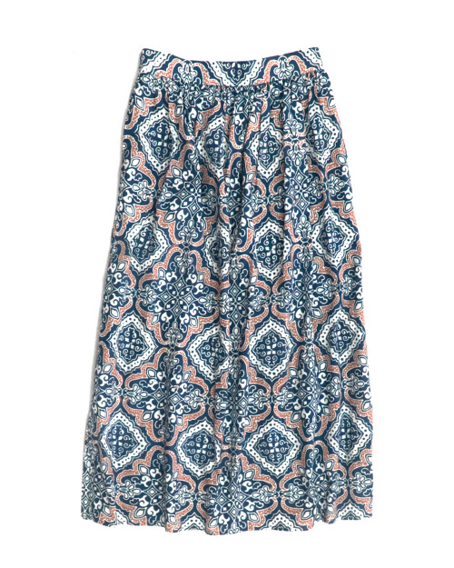 Gather Skirt - Teal Tegel