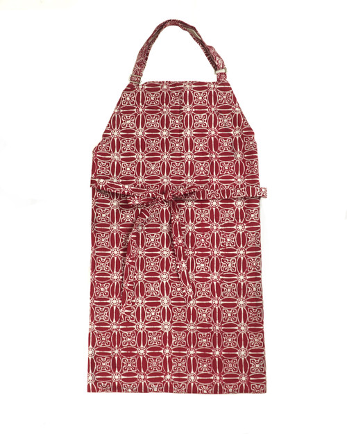 Apron - Red Flower