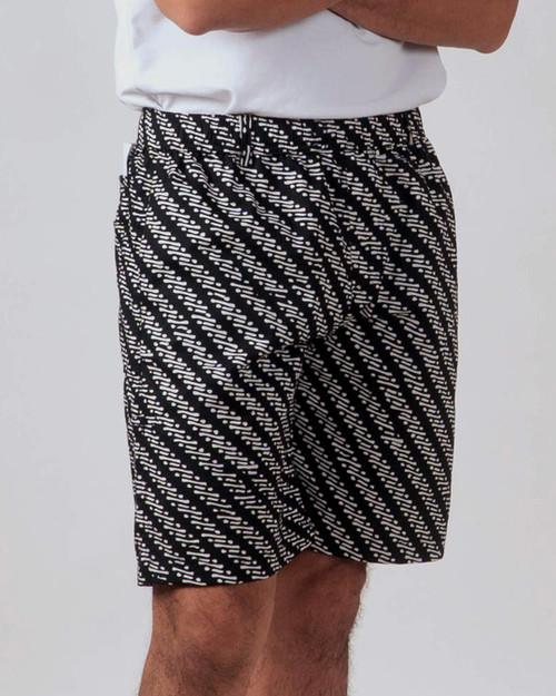 Half Pants - Parang Kelitik Black