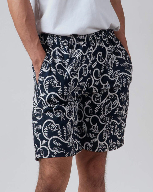 Half Pants - Liana Lung Lungan Navy