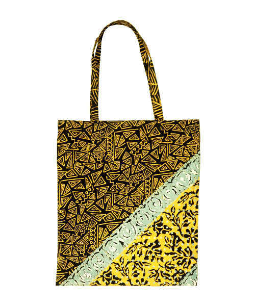 Totebag - Yellow Triangle