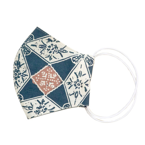 Reusable Face Mask (S (Kids)) - Batik 64