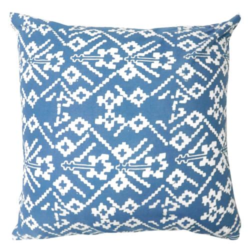 Cushion Cover (2 Pcs) - Blue Rattan